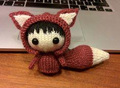 Little brown fox doll