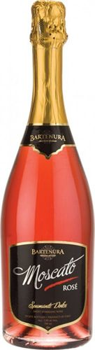 Bartenura Sparkling Moscato Rose: Bartenura Sparkling Rose Moscato is a light rose color with a delicate fragrance and sweet taste that goes well with fruit, cheese and desserts. According to the winemaker, this is a splendid, festive wine to complete a meal best served chilled.