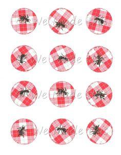 b5876563630 Picnic Ants Digital Bottle Cap Image Sheet Inchies 1