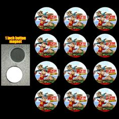 ALVIN AND THE CHIPMUNKS MAGNETS