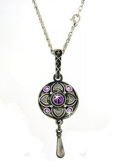 Experience stress relief everywhere you go with this purple pewter flower diffuser necklace with Purple Stones. Perfect for your collection of stress relievers or as a gift! $19.00 http://www.epicstressrelievers.com/#!shop-stress-relievers/c161y