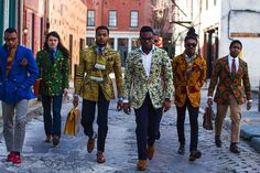 Ikiré Jones. If I ever see someone wearing this on the street I might faint on the spot. Or squeal embarrassingly.