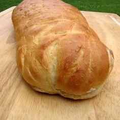Homemade French Bread [Bread Machine]