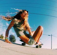 longboards, skateboards, skating, skate, skateboarding, sk8… #skateboardingwomen #skateboardingoutfits