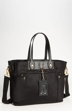 MARC BY MARC JACOBS 'Preppy Nylon Eliz-a-baby' Diaper Bag available at #Nordstrom
