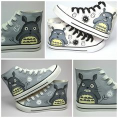 New-personalized-casual-hand-painted-canvas-Totoro-font-b-shoes-b-font-cartoon-gaobang-lace-font.jpg (1000×1000)