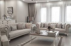 Şık objelerle klasik ve zamansız: Canan hanımın evi. Elegant Living Room, Formal Living Rooms, Living Room Sofa, Home Living Room, Interior Design Living Room, Living Room Designs, Living Room Decor, Modern Living, Living Room Inspiration