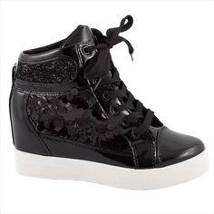Sneakers cu siret 5308-NEGRU - Reducere 55% - Zibra.ro