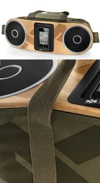 The House of Marley Bag of Rhythm Portable Audio System - Now Available!