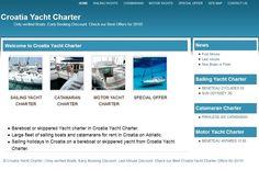 http://croatia-yacht-charter.eu/     Bareboat or skippered Yacht charter in Croatia Yacht Charter.     Large fleet of sailing boats and catamarans for rent in Croatia on Adriatic.     Sailing holidays in Croatia on a bareboat or skippered yacht from Croatia Yacht Charter.