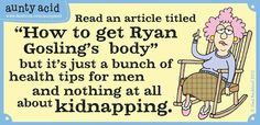 How to get Ryan Gosling's body...