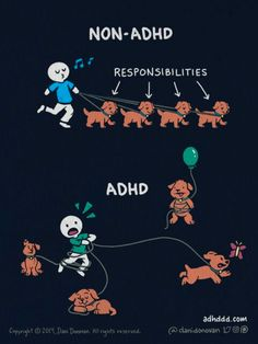 Adhd Funny, Adhd Humor, Adhd Facts, Adhd Quotes, Adhd Help, Adhd Brain, Adhd And Autism, Aspergers Autism, Adult Adhd