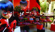 Festa infantil Miraculous Ladybug - Baú de Menino