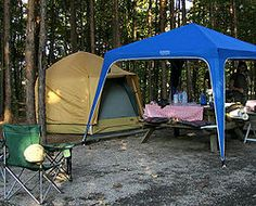 Camping in the Great Smoky Mountains National Park - a list of campgrounds