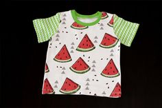 SALE Watermelons boys T-shirt short sleeve Size 6-9 by MothersBaby