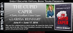 Meet Finley Goodhart, ex-con artist trying to solve her friend's murder. The Book Diva's Reads: Guest Post: Larissa Reinhart - THE CUPID CAPER #bookstagram #crimecaper #crimethriller #southern #atlanta #characters #bookcharacters #mysteryseries #amateursleuth