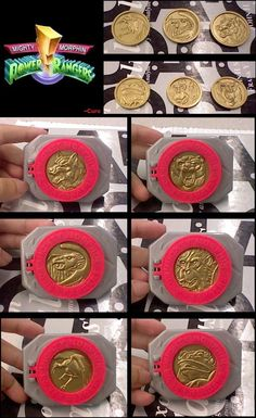 Nostalgia 90s kids Power Rangers Coins Belts my grandma had one of these in her toy box a LONG time ago! I never knew what it was for... now I do