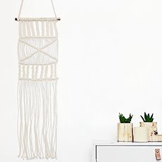 Wall hangers - ivory