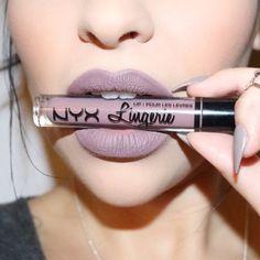 "NYX ""Lingerie"" Matte Liquid Lipstick ♡♥♡♥♡♥"