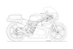 die 156 besten bilder von technical drawings vehicle cars Classic Cars Citroen photos some classic motorcycle line art drawings motorcycle line drawing 13