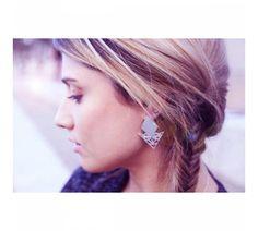 Boucles d'oreilles en laiton DYLAN - Jotiha