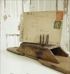 Antique German Flax Comb..CHARMANT von CharmantCharmant auf Etsy