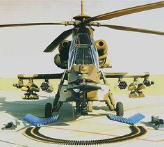 The South African Rooivalk attack helicopter supports a diverse range of weaponry, including missiles, rockets, cannon and machine guns. Attack Helicopter, Military Helicopter, Military Aircraft, South African Air Force, Aviation World, War Machine, Machine Guns, Army Vehicles, Out Of Africa