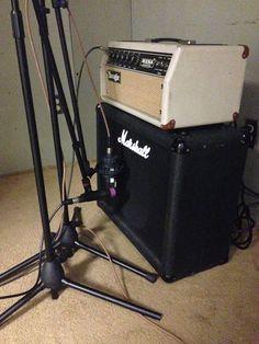 Guitar Recording for Benom Plums Album #denvermusicscene #recorderklaus #coloradomusic #denvermusic #imprintstudios #secombearts #audioengineering #musicproduction