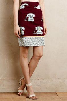 Clementina Pencil Skirt - anthropologie.com