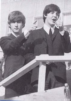 Paul Mcartney and John Lennon