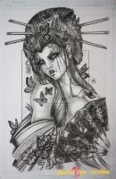hình xăm geisha 37