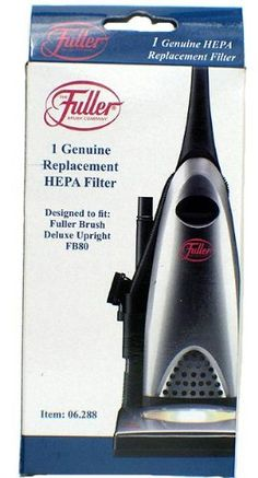 #vacuums Capture dirt and allergens with this premium HEPA filter. Fits #Fuller #Brush Tidy Maid and Fuller Brush Professional upright vacuum cleaners.