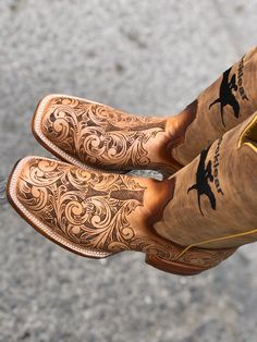 Cute Cowgirl Boots, Rodeo Boots, Womens Cowgirl Boots, Cowboy Shoes, Cowgirl Outfits, Cute Boots, Cowgirl Style, Boot Outfits, Western Style