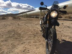 SC3 Adventure with IMS tank in the Mojave Desert. That's a big pipeline!
