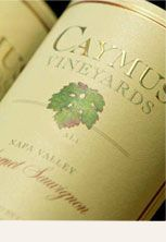 Another of my favorite Cabs - Caymus Vineyards. Either the Napa Valley or Special Select do nicely.