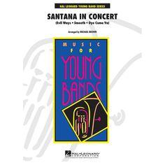 Hal Leonard Santana In Concert - Young Band Series Level 3