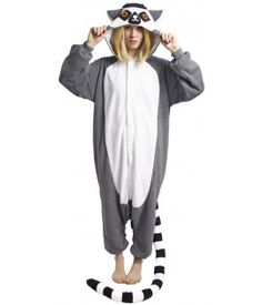 Kigurumi lémurien Kids Pajamas, Pyjamas, Love Clothing, Diy Costumes, Types Of Fashion Styles, Harem Pants, Onesies, Normcore, Dress Up