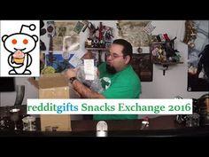 redditgifts exchange - Snack Exchange 2016