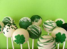 cake pop decorating | st. patricks day cake pops cake pop decorating ideas st patricks day ...