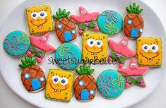 Sponge Bob Cookie Platter (SugarBelle)