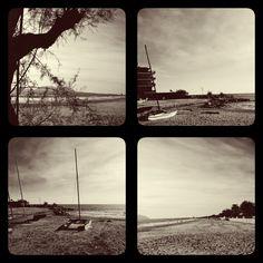 Terracina Beach in Fall #Black&White #Fall