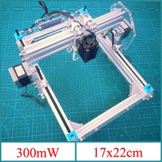 300mW Desktop DIY Violet Laser Engraving Machine Picture CNC Printer Sale sold out - Banggood Mobile