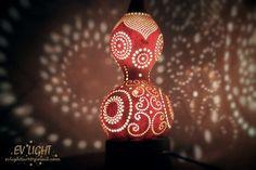 MEGICUAN gourd lamp night by ~EvaLightArt on deviantART