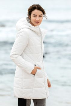 Isobar Outdoors Longline Quilted Puffer Jacket at EziBuy New Zealand. Buy women's, men's and kids fashion online. Puffer Jackets, Winter Jackets, Kids Fashion, Fashion Outfits, Model Pictures, Princess Seam, Jackets Online, Online Clothing Stores, Long A Line