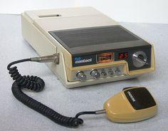 "Motorola Mocat ""Bell-Contact"" mobile CB radio"