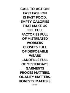 ben je bewust van je koopgedrag wat kleding betreft?