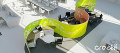 Workpods - Wraparound workspaces | Creatif