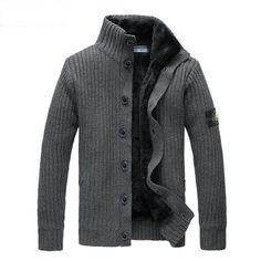 Male Outerwear 2015 Stone Sweater Jacket .