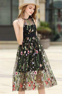 986740c2d59e8 Buy TC5 Black Ashley Gauze Embroidered Dress online. American DressAmerican  FashionBeach DressesWomen s ...
