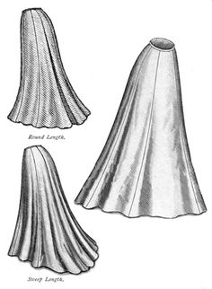 '1903 Trumpet Skirt' pattern by Truly Victorian - $16 plus postage. Would be the ideal pattern for the lower half of Amelia's dress.